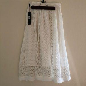 Dresses & Skirts - White Midi Skirt